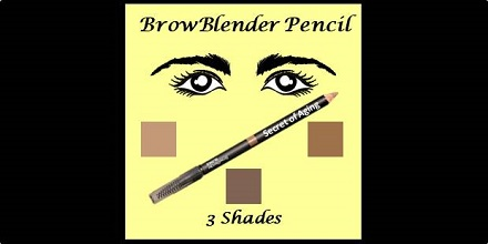 BrowBlender Pencil by Secret of Aging