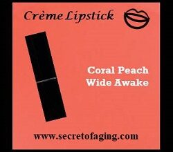 Coral Peach Wide Awake