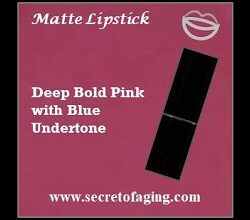 Deep Bold Pink with Blue Undertone