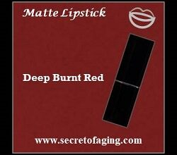 Deep Burnt Red