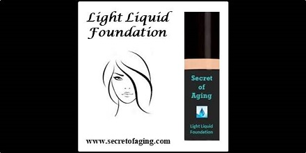 Light Liquid Foundation by Secret of Aging