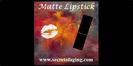 Matte Lipstick by Secret of Aging