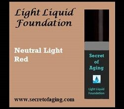 Light with Neutral Red Undertone