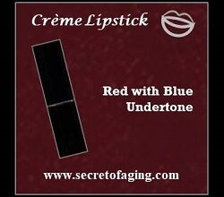 Red with Blue Undertone