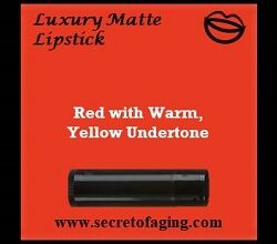 Red with Warm Yellow Undertone