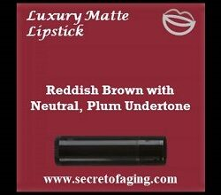 Reddish Brown with Neutral Plum Undertone