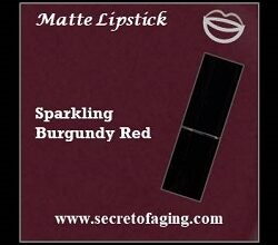 Sparkling Burgundy Red