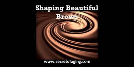 2021 Shaping Beautiful Brows by Secret of Aging