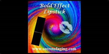 Bold Effect Lipstick by Secret of Aging