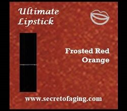 Frosted Red Orange