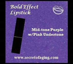 Mid-tone Purple with Pink Undertone