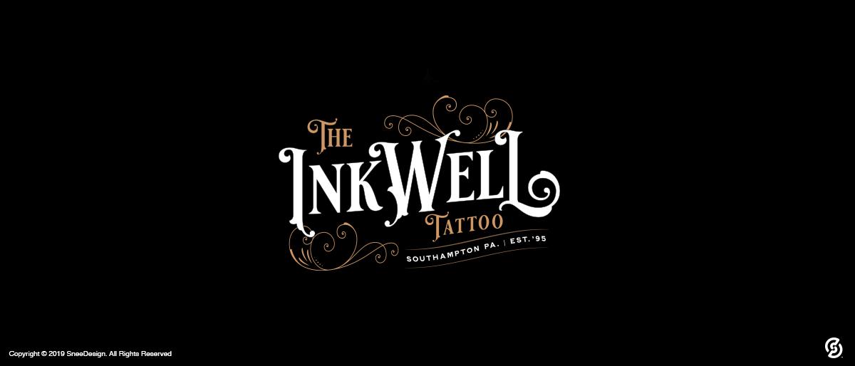 Logo and tee shirt design for Southampton Inkwell Tattoo
