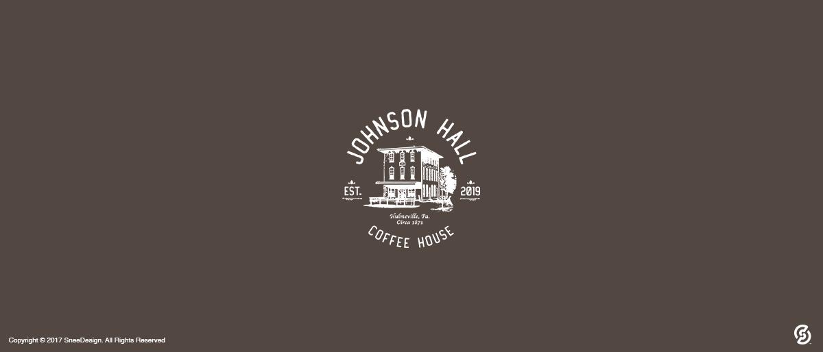 Johnson Hall Coffe Shop Logo