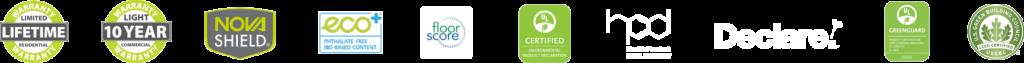 maybree warranty logos