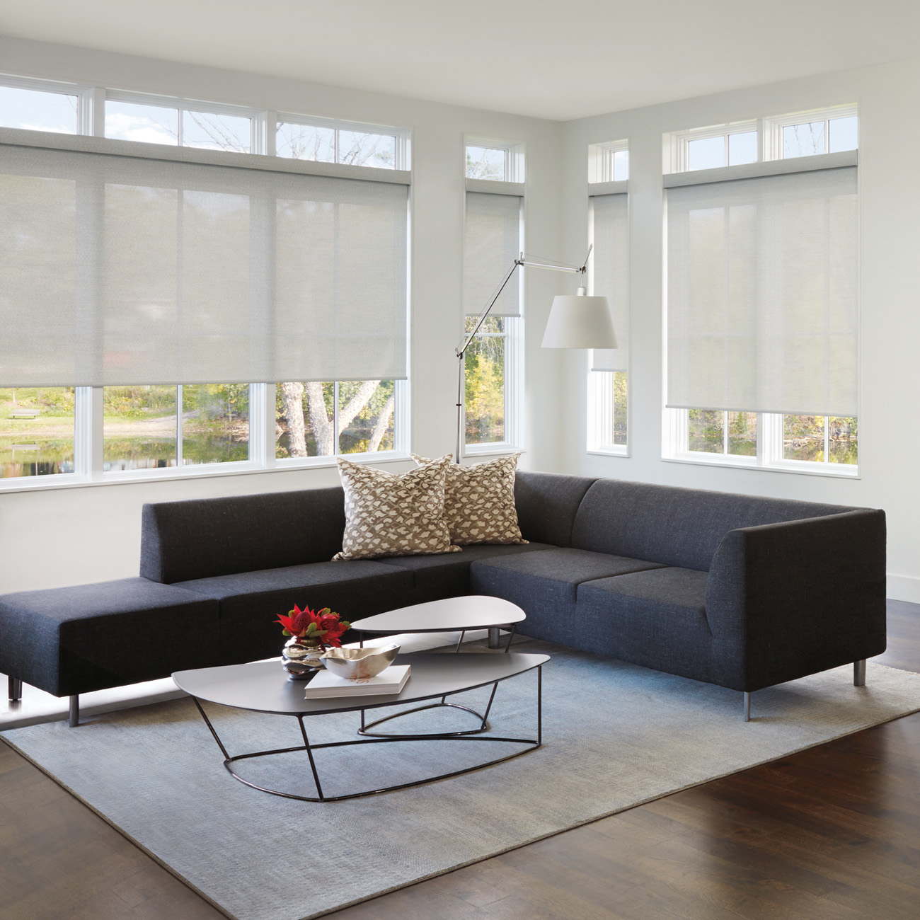 living space fully furnished