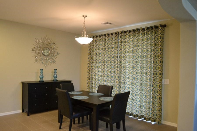 window coverings in Gilbert AZ - interiors of a dining room