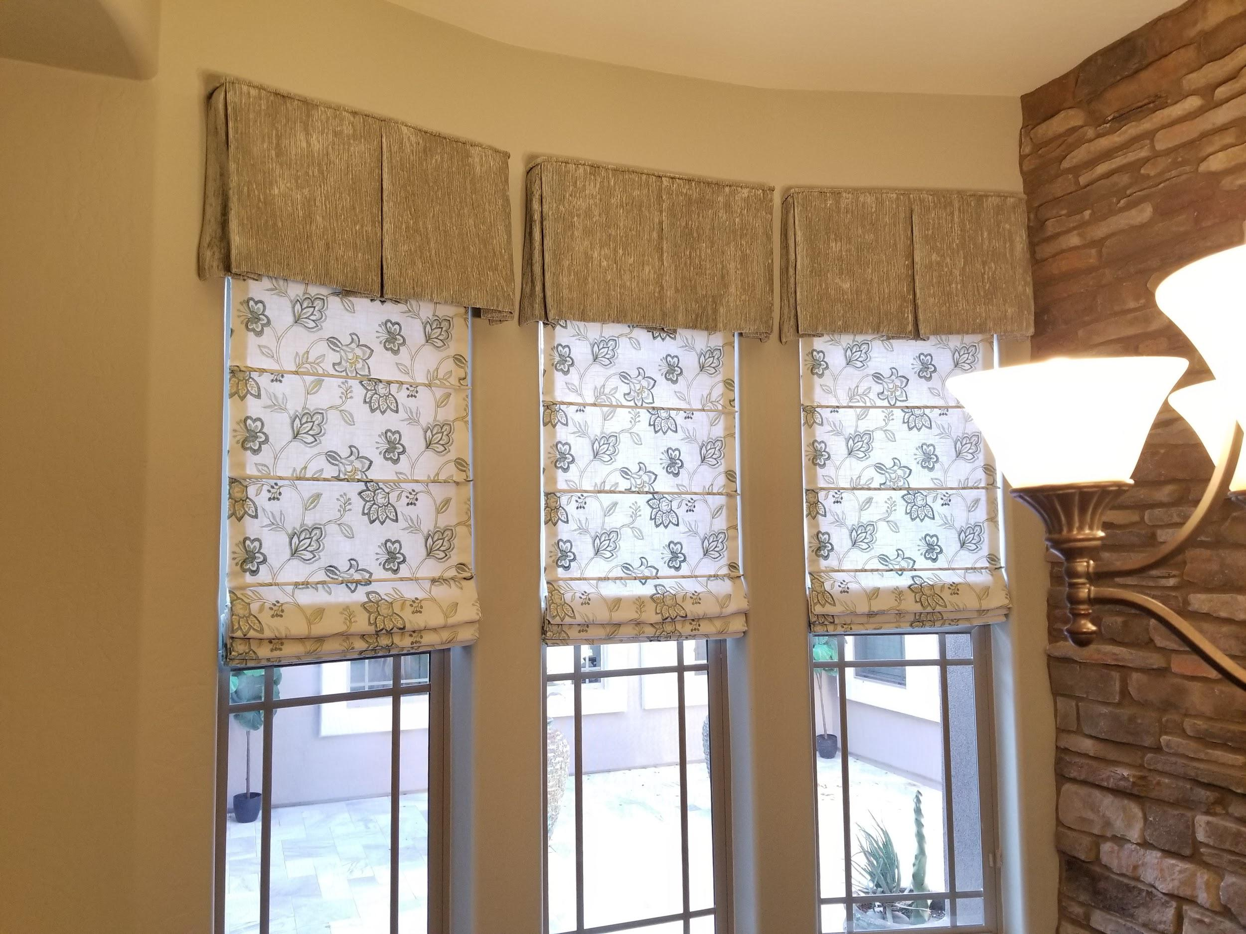 Roman Shades - RIBBED