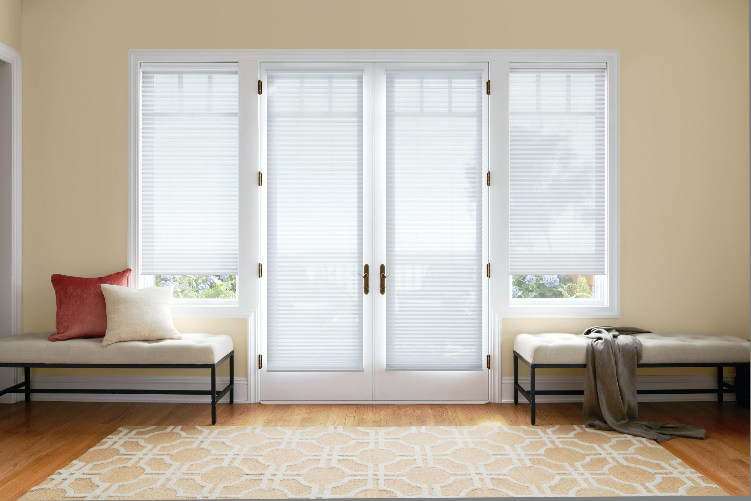 Image of: 6 Ideas For French Doors Or Patio Door Window Treatments