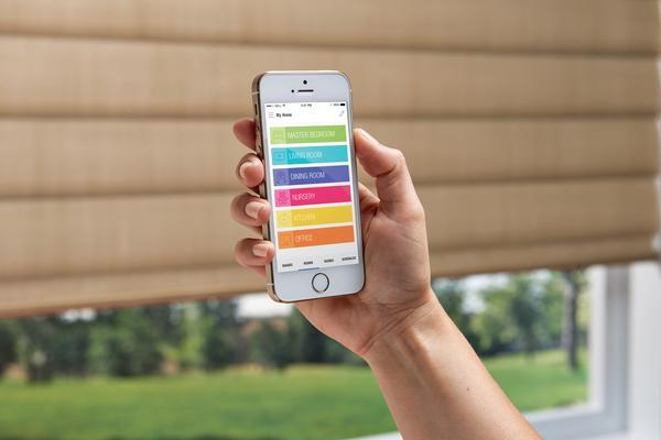 Hunter Douglas PowerView Shades SmartPhone Control