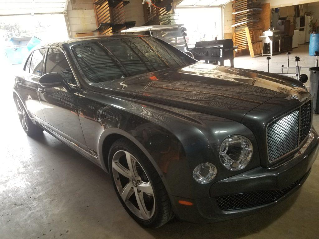 San Antonio Auto Glass Repair Luxury Car Bentley Windshield Service