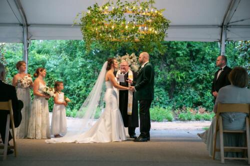 wedding ceremony nashville photo