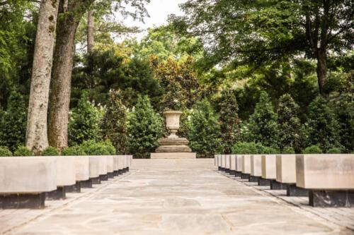 outdoor wedding venues garden
