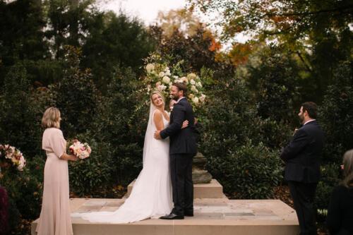 Outdoor wedding space photo