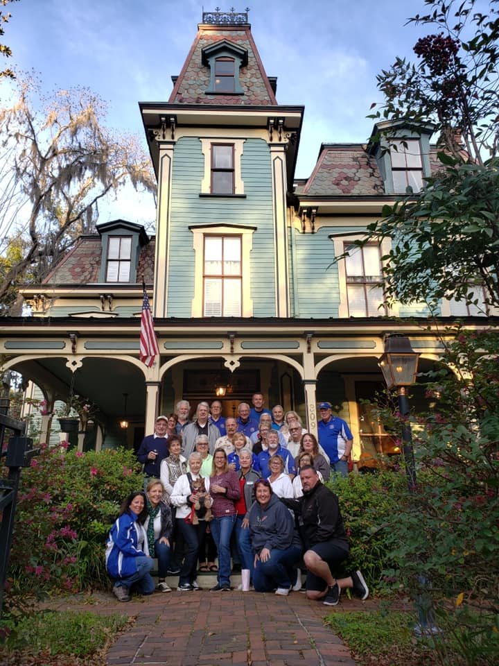 BACC Mystery Cruise to Gainesville's Magnolia Plantation Bed & Breakfast Inn and Cottages