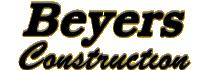 Beyers Construction Logo