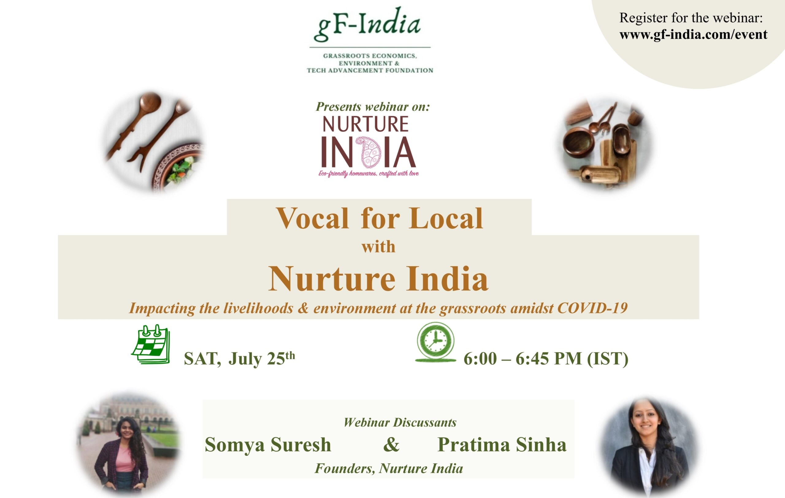 gF-India Webinar - Vocal for Local with Nurture India 25 July 6PM (IST) - Copy
