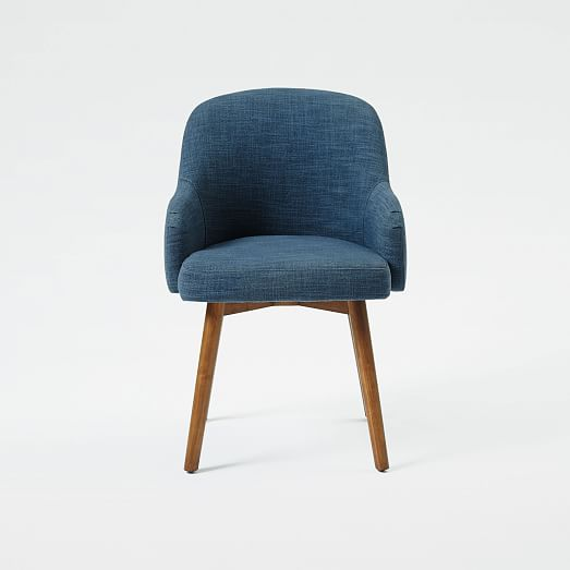 west elm saddle chair 4 for 1800