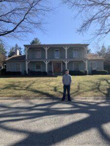 Steve Kluemper's house in Louisville