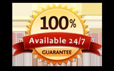 100 Percent Available 24 7 Guarantee