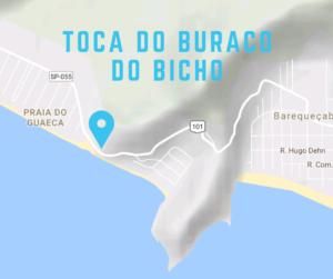 Mapa de Localização da caverna
