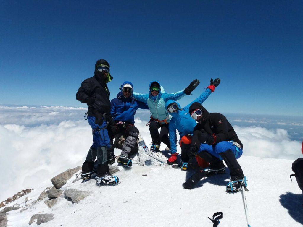 Cume do Monte Elbrus