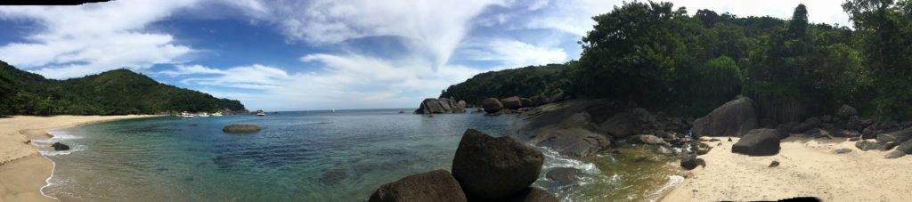 Praia de Indaiaúba. Travessia Bonete para Castelhanos