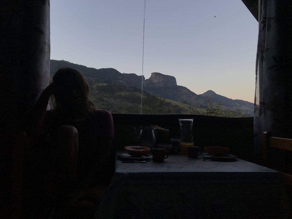 Vista Complexo do baú do Chalé
