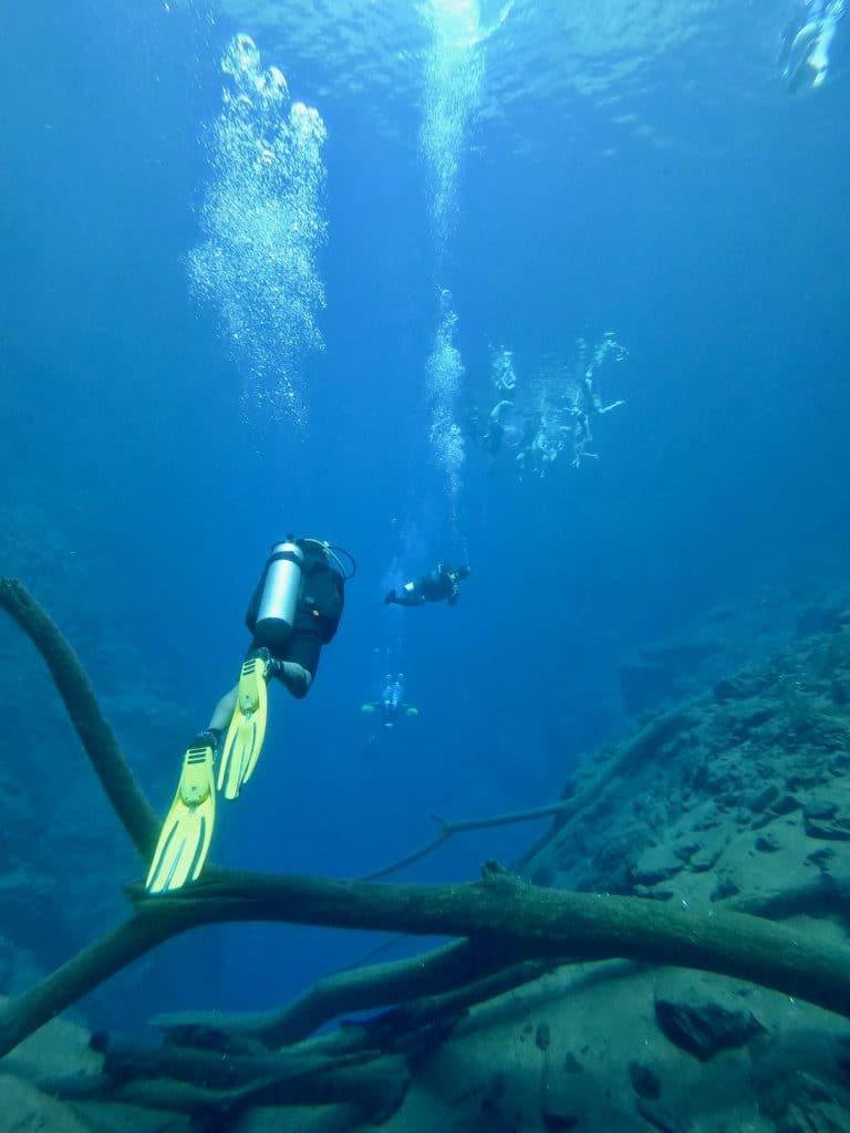 Mergulho na Lagoa Misteriosa