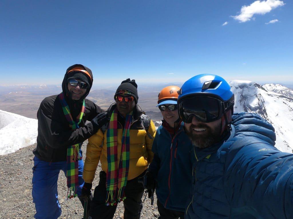 Cume Vulcão Parinacota