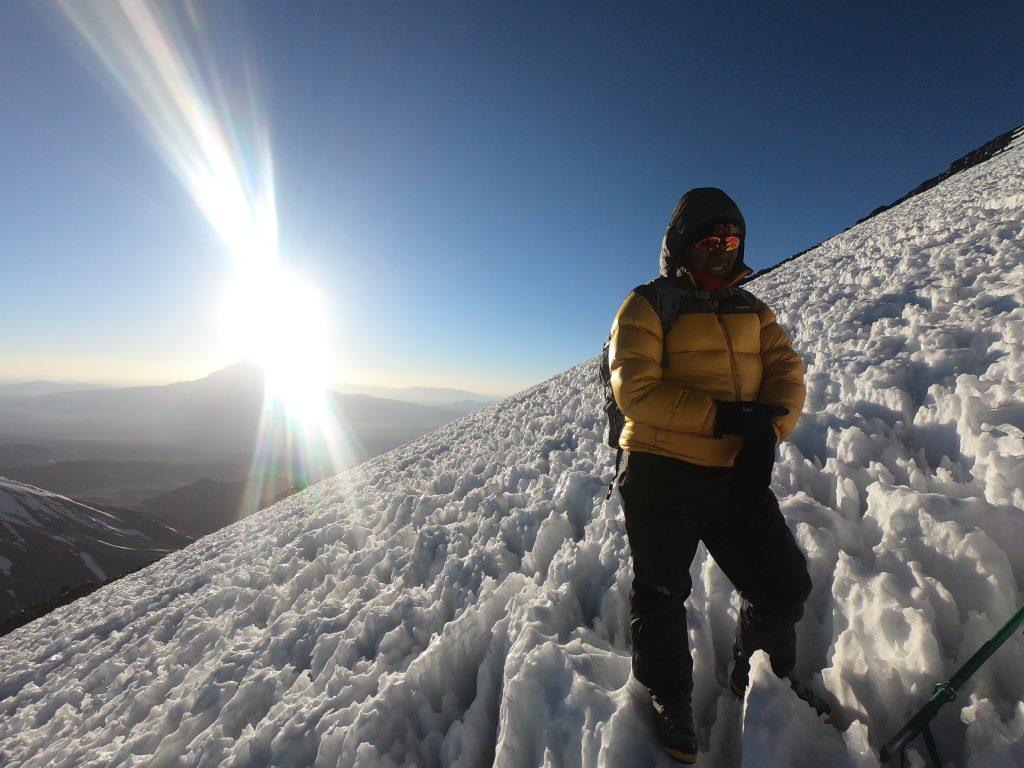 Penitentes Vulcão Parinacota
