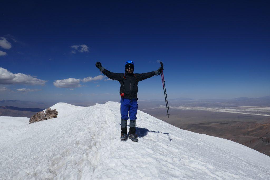 Cume Vulcão Acotango