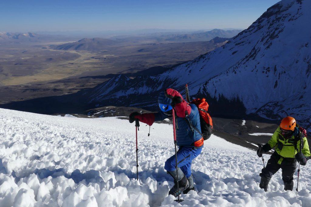 Escalada Vulcão Parinacota