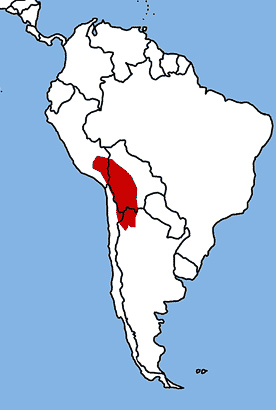 Altiplano map