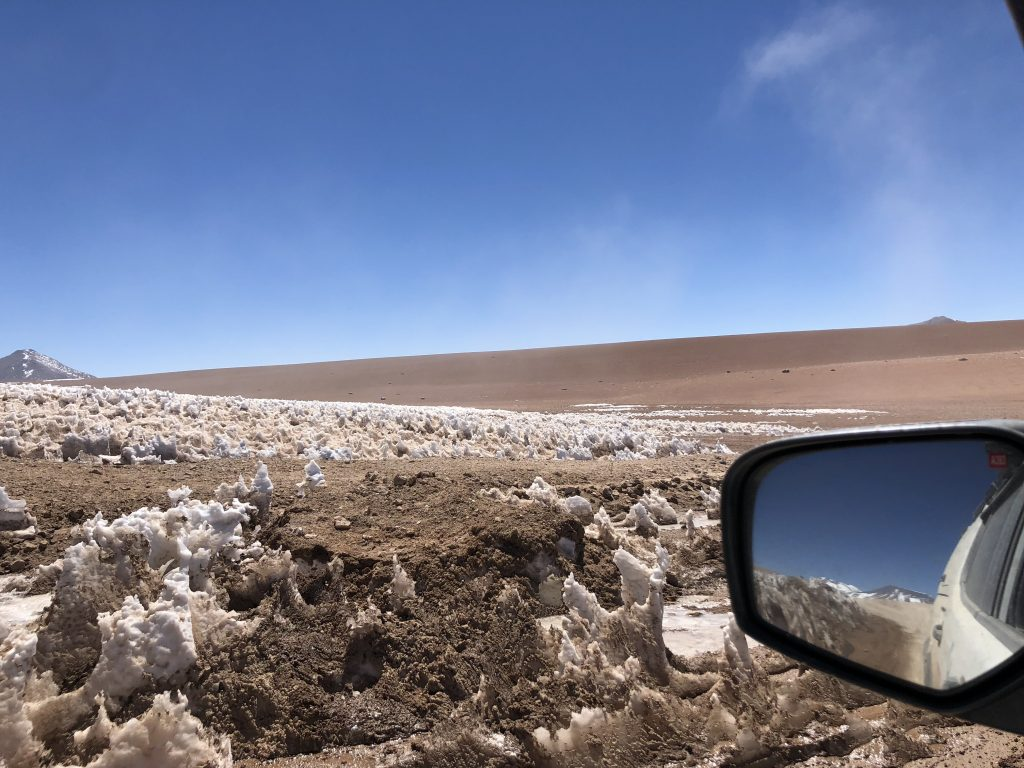 Gelo na estrada