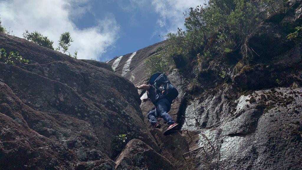 trekking Morro do Anhagava