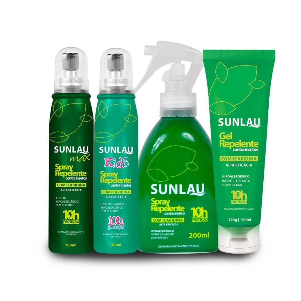 kit 4 repelentes sunlau max com icaridina repelente kids repelente par roupa repelente gel 29625259 1 20201123112738