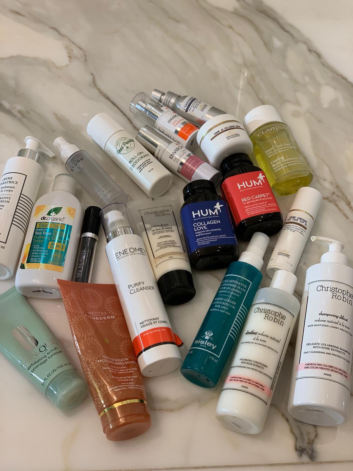 Elena's beauty kit