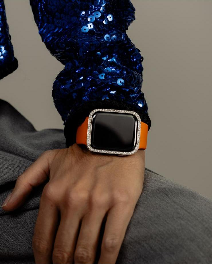 CUSTOMIZED DIAMOND FRAME FOR YOUR iWATCH