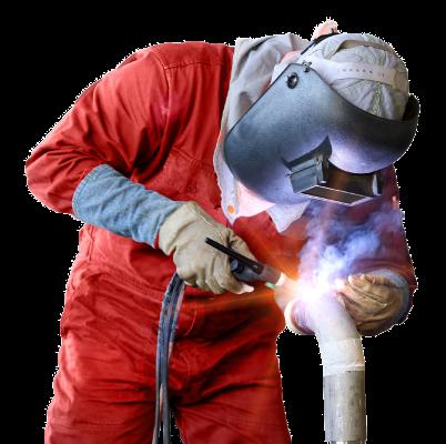 mechanical company employee working