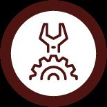 Mechanical icon